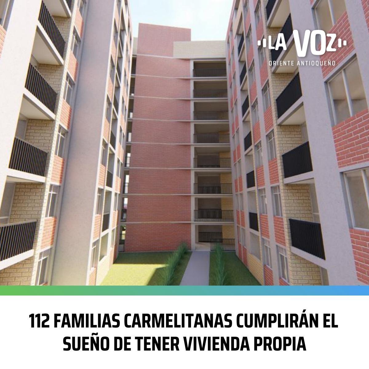 112 Familias Carmelitanas cumplirán el sueño de tener Vivienda propia