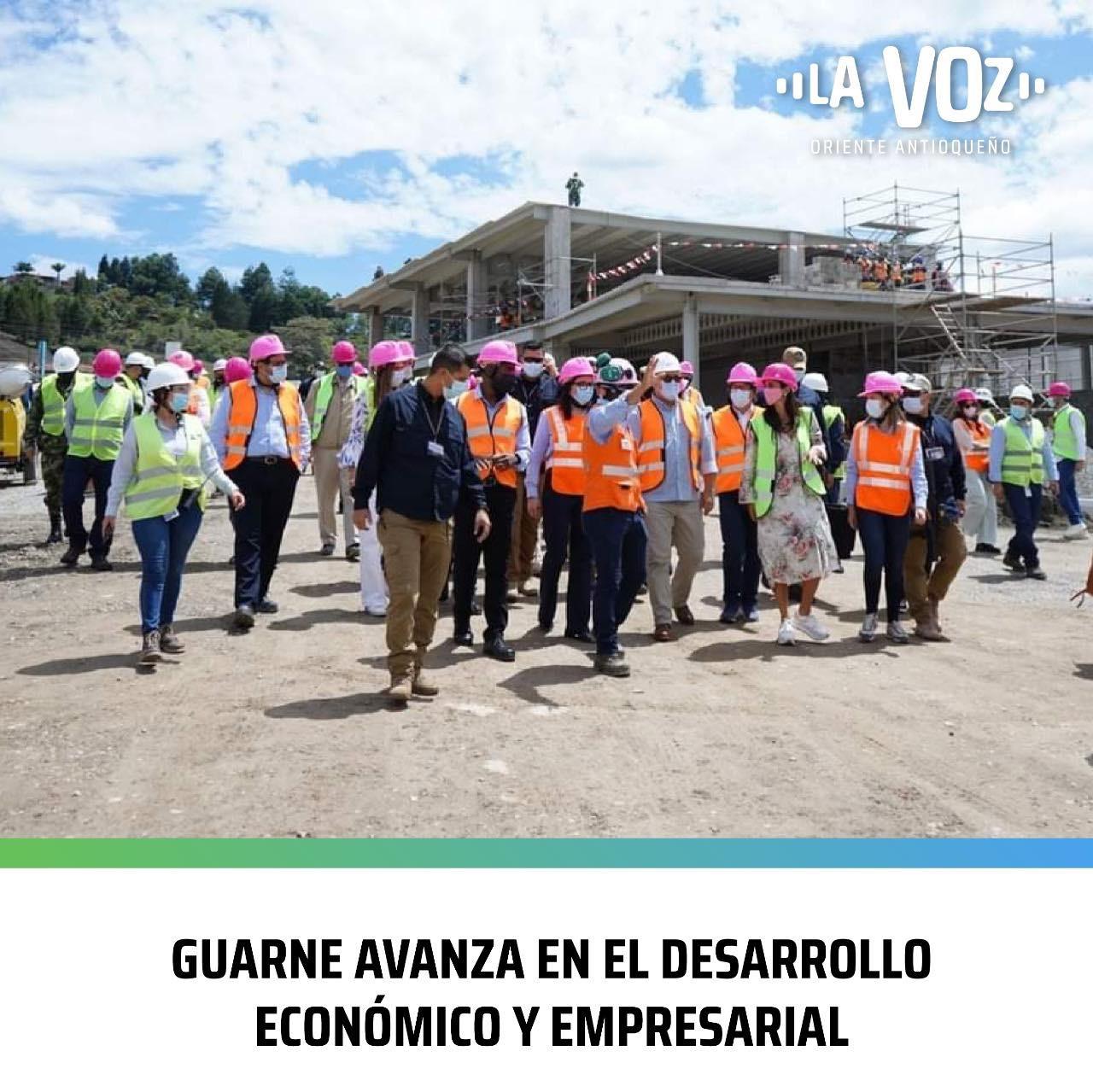 Guarne avanza en el Desarrollo Económico y Empresarial
