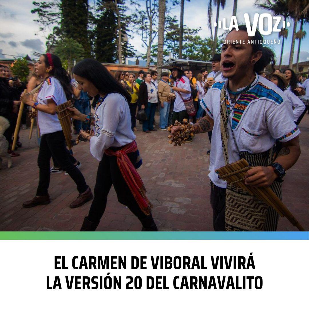 El Carmen de Viboral vivirá la Versión 20 del Carnavalito